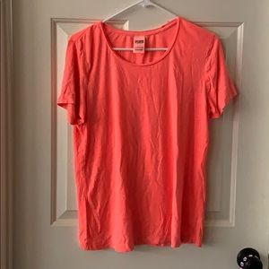 Pink Neon Coral Tee